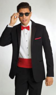 Prom Tuxedo Rentals Pizazz! Wedding Boutique