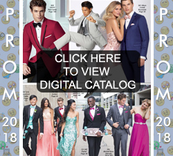 Prom Tuxedo Catalog of Styles and Colors