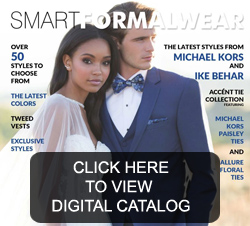 Tuxedo Catalog of Styles and Colors
