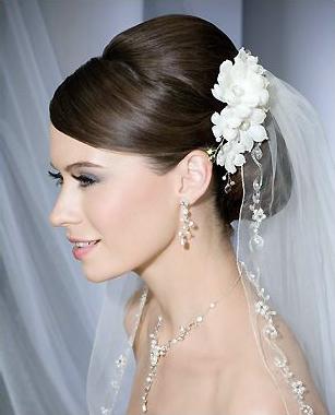 Bel Aire Bridal Veil V7061 And Clip 6136