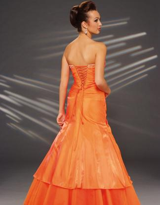 Joli Orange Prom Dress